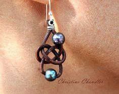 Perlas de agua dulce y perlas de pendientes por ChristineChandler