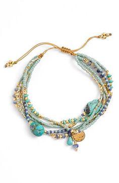 Tendance & idée Bracelets 2016/2017 Description Chan Luu Multistrand Bead Bracelet available at #Nordstrom