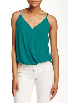 Wrap Front Tank by Lush on @nordstrom_rack