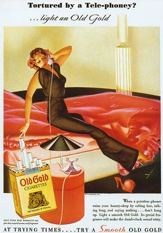 Old Gold Cigarette ad