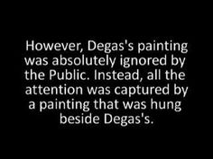 BEST POWER POINT ON DEGAS!!! GREAT EXAMPLE FOR MY ART CLASS