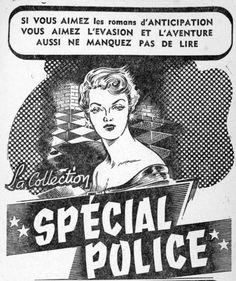Gourdon Publicité Fleuve Noir 1954