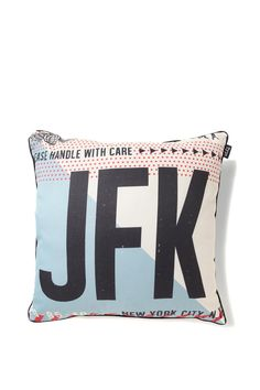 nice cushy cushion, JFK