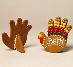 Turkey Cookies...keep the kids busy while you get dinner ready!