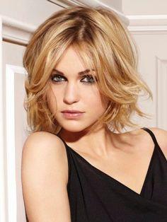 2014 medium Hair Styles For Women Over 40 | Medium Shaggy Bob Hairstyles For Women Over 40 Photo