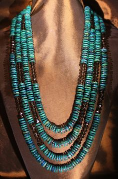 Turquoise Necklace by Faria Siddiqui, LLC.