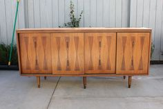 Pick your color -- Vintage Mid Century Modern credenza buffet