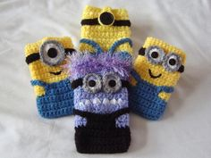 despicable me minion phone/ipod case by pamcrafteduk on Etsy, £7.50
