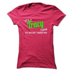 Tracy thing understand ST420 - #christmas gift #gift for guys. MORE INFO => https://www.sunfrog.com/Names/Tracy-thing-understand-ST420-HotPink-Ladies.html?68278