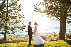 What's more stunning that this lakeside wedding venue? Book your destination wedding at Edgewood Tahoe, in gorgeous South Lake Tahoe. #destinationwedding #Tahoewedding http://www.TahoeWeddingSites.com
