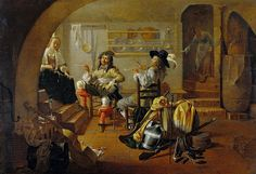 Jacob Duck - Interior with Soldiers and Women [c.1650] | Flickr - Photo Sharing!