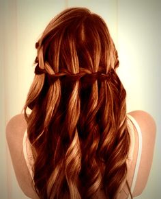 waterfall braid :)