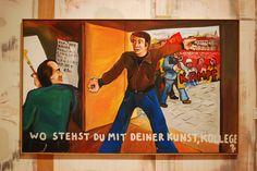 Jörg Immendorf - Wo stehst du mit deiner Kunst, Kollege?