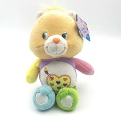 Care Bear WORK OF HEART 8 inch Stuffed Animal Plush 2005 with Tags #CareBears #AllOccasion