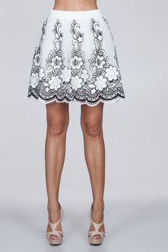 Heaven Sent Mini Skirt