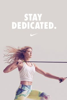 Professional tennis player Eugenie Bouchard stays dedicated in the gym and on the court.