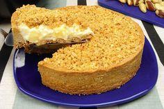 Confira esta receita de Torta de maçã com crosta de castanha-do-pará: é crocante, rende até oito porções e fica uma delícia!
