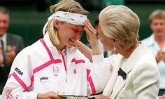 Jana Novotna, 1993 Wimbledon...commanding lead in 3rd set to win the Championship, followed by implosion and Graf's victory.