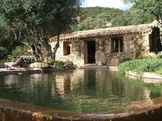 Top 38 of the most beautiful swimming pools of country houses Porto Vecchio, Natural Swimming Pools, Villa, Mediterranean Homes, Swimming Pool Designs, Stone Houses, Pool Houses, House Pools, Backyard