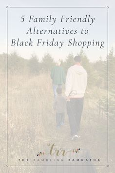 Anyone else hate shopping on Black Friday? If you are like us, and avoid it like the plague, here are few different ways you can spend the day instead!