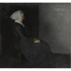 Vilhelm Hammershøi (1864-1916) Danish Painter