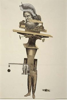 Collage of the Week | André Breton, Jacqueline Lamba, Yves Tanguy:...