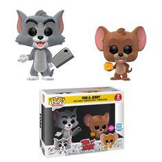 Tom and Jerry Funko Pops Hit Stores in August! Figurine Disney, Pop Figurine, Funk Pop, Pop Vinyl Figures, Toy Art, Tous Les Disney, Best Funko Pop, Funko Pop Display, Funko Pop Anime