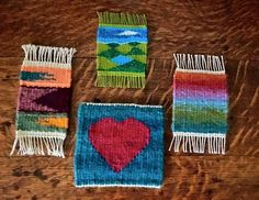 Kim Carey, tapestry from The Tapestry Heart project and Weaving Tapestry on Little Looms (online course with Rebecca Mezoff)