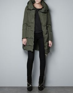 Have the pieces // black booties, joe's skinnies, olive green silky trench from zara