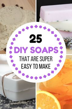 WOW! These handmade soaps are so EASY to make and they make your skin feel great!
