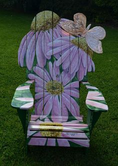 Watercolor Works: Adirondack Chair Exhibit