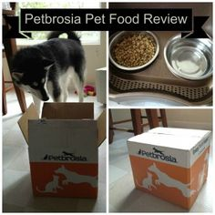 Petbrosia Review: Healthy Food for Every Dog - one of the only pet foods on the market that taken into account your dogs age, activity level, and breed! Perfect for dogs & cats!