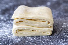 Quick Puff Pastry Dough Home Made Puff Pastry, Recipes Using Puff Pastry, Easy Puff Pastry Recipe, Rough Puff Pastry, Puff Pastry Desserts, Puff Pastry Dough, Puff Pastries, Danish Pastry Dough Recipe, Butter Puff Pastry