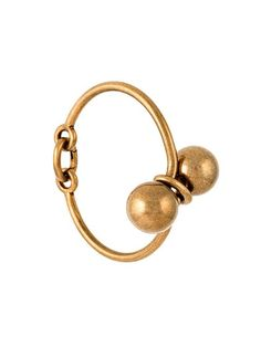 Shop Tomas Maier double sphere bracelet  in Tiziana Fausti from the world's best independent boutiques at farfetch.com. Shop 400 boutiques at one address.