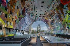 Galeria - Markthal Rotterdam / MVRDV - 2