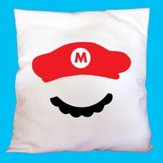 Hey, I found this really awesome Etsy listing at https://www.etsy.com/listing/221601160/super-mario-cushion-cover-baby-or-kids