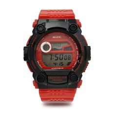 ae2fdee5a93 Manchester United Digital Watch - Red Black Goalkeeper Kits