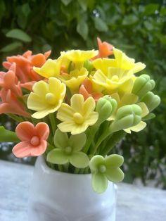 cold porcelain filler flowers