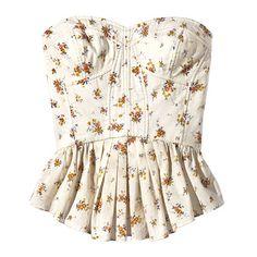 Floral Bustier - Shop Summer's 5 Best Trends - Summer Fashion 2010 - Fashion - InStyle