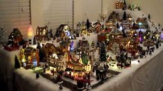 christmas village displays - Google Search