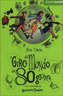 La copertina del libro di Verne