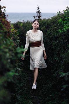 Dress Nina Skarra - pattern in book