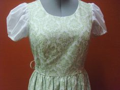 Liesl's curtain dress from the Sound of Music  by tulipdesign, $76.00