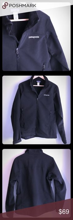 Patagonia soft-shell jacket All-around windproof, water-resistant soft-shell jacket from Patagonia. Women's M. Barely worn, Excellent condition. Patagonia Jackets & Coats