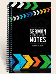 Sermon and Bible Study Notes / Sermon Notes by IntegrityGraphics