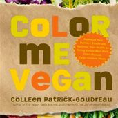 Vegan cookbooks by Colleen Patrick-Gouedreau