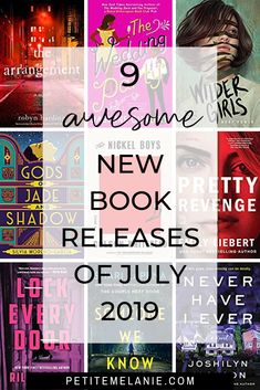 9 awesome new book releases of July 2019 - Petite Mélanie Great Books To Read, New Books, Good Books, Usa Today, Books New Releases, Science Fiction, Daddy, Book Lists, Reading Lists