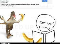 Yeah. Me Too. Stupid Bananas.