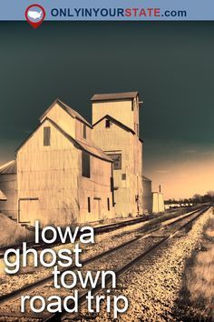 From abandoned mining towns to towns that fought to survive during Iowa's devastating floods, take a tour of some of Iowa's most haunting ghost towns. Beautiful Places To Visit, Oh The Places You'll Go, Cool Places To Visit, Places To Travel, Real Haunted Houses, Haunted Places, Abandoned Places, Abandoned Castles, Abandoned Mansions