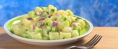 Salata de cartofi cu avocado